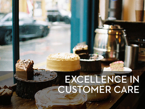 excellence in customer care