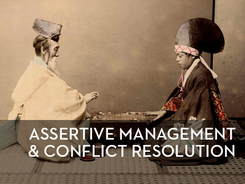 assertive management and conflict resolution